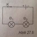 Bài 27.6 trang 69 Sách bài tập (SBT) Vật lí 7