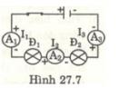 Bài 27.8 trang 69 Sách bài tập (SBT) Vật lí 7