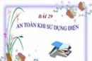 Bài 29.7 trang 79 Sách bài tập (SBT) Vật lí 7