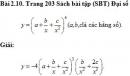 Bài 2.10 trang 203 Sách bài tập (SBT) Đại số và giải tích 11