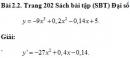 Bài 2.2 trang 202 Sách bài tập (SBT) Đại số và giải tích 11