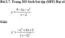 Bài 2.7 trang 203 Sách bài tập (SBT) Đại số và giải tích 11