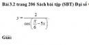 Bài 3.2 trang 206 Sách bài tập (SBT) Đại số và giải tích 11