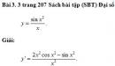 Bài 3. 3 trang 207 Sách bài tập (SBT) Đại số và giải tích 11