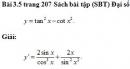 Bài 3.5 trang 207 Sách bài tập (SBT) Đại số và giải tích 11