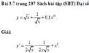 Bài 3.7 trang 207 Sách bài tập (SBT) Đại số và giải tích 11