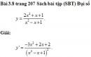 Bài 3.8 trang 207 Sách bài tập (SBT) Đại số và giải tích 11