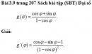 Bài 3.9 trang 207 Sách bài tập (SBT) Đại số và giải tích 11