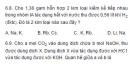 Bài 6.8, 6.9, 6.10 trang 55 sách bài tập (SBT) Hóa học 12