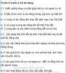 Câu 2 trang 27 Sách bài tập (SBT) Địa lí 10