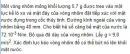 Bài VII.7 trang 94 Sách bài tập (SBT) Vật lí 10
