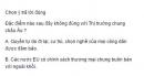 Câu 5 trang 39 Sách bài tập (SBT) Địa lí 11