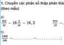 Câu 1, 2, 3, 4 trang 47 Vở bài tập (VBT) Toán lớp 5 tập 1
