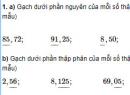 Câu 1, 2, 3, 4 trang 45 Vở bài tập (VBT) Toán lớp 5 tập 1