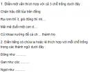 Chính tả - Tuần 7 trang 40, 41 Vở bài tập (VBT) Tiếng Việt lớp 5 tập 1