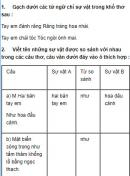 Luyện từ và câu - Tuần 1 trang 3 Vở bài tập (SBT) Tiếng Việt 3 tập 1