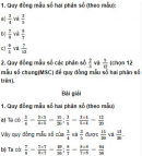 Câu 1, 2 trang 22 Vở bài tập (VBT) Toán 4 tập 2