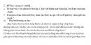Soạn bài  Viết bài văn số 1: Cảm nghĩ về một hiện tượng đời sống (hoặc một tác phẩm văn học) SBT Ngữ văn 10 tập 1