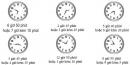 Câu 1, 2, 3, 4 trang Vở bài tập (SBT) Toán 3 tập 1