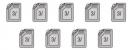 Câu 1, 2, 3, 4 Vở bài tập toán 2 tập 2 trang 7