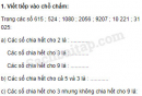 Câu 1, 2, 3, 4, 5 trang 85, 86 Vở bài tập (VBT) Toán 4 tập 2