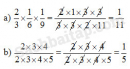Câu 1, 2, 3, 4 trang 95, 96 Vở bài tập (VBT) Toán 4 tập 2
