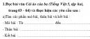 Tập làm văn - Ôn tập về tả đồ vật trang 35, 36 Vở bài tập (VBT) Tiếng Việt 5 tập 2