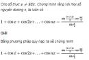 Câu 3.2 trang 85 sách bài tập Đại số và Giải tích 11 Nâng cao