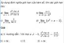 Câu 4.38 trang 140 sách bài tập Đại số và Giải tích 11 Nâng cao