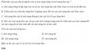 Câu 6.1  trang 37 sách bài tập Vật lí 12 Nâng cao