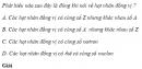 Câu 9.1  trang 55 sách bài tập Vật lí 12 Nâng cao