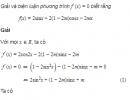 Câu 5.27 trang 183 sách bài tập Đại số và Giải tích 11 Nâng cao