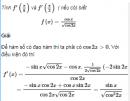 Câu 5.21 trang 182 sách bài tập Đại số và Giải tích 11 Nâng cao