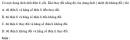 Bài 1.10 trang 5 Sách bài tập (SBT) Hóa học 11 Nâng cao