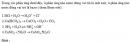 Bài 1.18 trang 6 Sách bài tập (SBT) Hóa học 11 Nâng cao