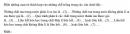 Bài 1.2 trang 3 Sách bài tập (SBT) Hóa học 11 Nâng cao