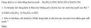 Bài 1.23 trang 6 Sách bài tập (SBT) Hóa học 11 Nâng cao