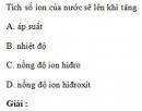 Bài 1.24 trang 7 Sách bài tập (SBT) Hóa học 11 Nâng cao