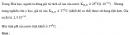 Bài 1.29 trang 7 Sách bài tập (SBT) Hóa học 11 Nâng cao