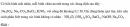 Bài 1.45 trang 10 Sách bài tập (SBT) Hóa học 11 Nâng cao