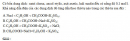 Bài 1.9 trang 4 Sách bài tập (SBT) Hóa học 11 Nâng cao