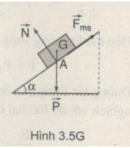 Bài 3.9 trang 35 Sách bài tập Vật lí 10 Nâng cao