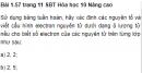 Bài 1.57 trang 11 Sách bài tập (SBT) Hóa học 10 Nâng cao