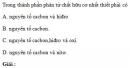 Bài 4.1 trang 31 Sách bài tập (SBT) Hóa học 11 Nâng cao