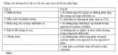 Bài 4.8 trang 32 Sách bài tập (SBT) Hóa học 11 Nâng cao