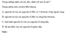 Bài 2.1 trang 12 Sách bài tập (SBT) Hóa học 11 Nâng cao