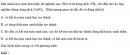 Bài 2.11 trang 14 Sách bài tập (SBT) Hóa học 11 Nâng cao