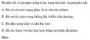 Bài 2.43 trang 20 Sách bài tập (SBT) Hóa học 11 Nâng cao