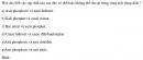 Bài 2.57 trang 23 Sách bài tập (SBT) Hóa học 11 Nâng cao