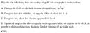 Bài 3.4 trang 25 Sách bài tập (SBT) Hóa học 11 Nâng cao